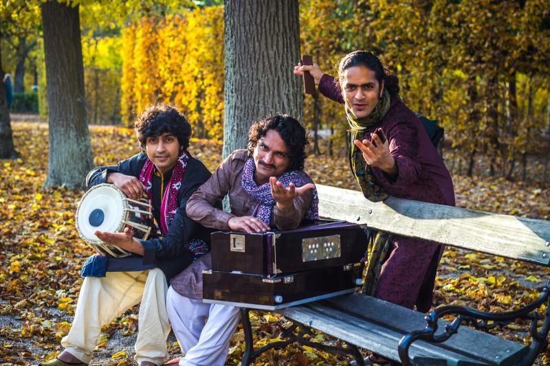 The Rajasthani Sufi & Folk 'n' Roll Brothers - Pintoo & Haider Khan, featuring Iqbal Khan
